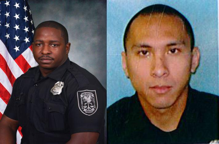 Officer Devon Perry and Officer Tony Luong shot on Friday morning on Glenwood Road.
