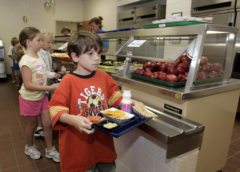 According to the School Nutrition Association, which represents workers who provide the meals, almost 80 percent of schools surveyed by the organization are reporting an increase in the number of free lunches served in 2008.
