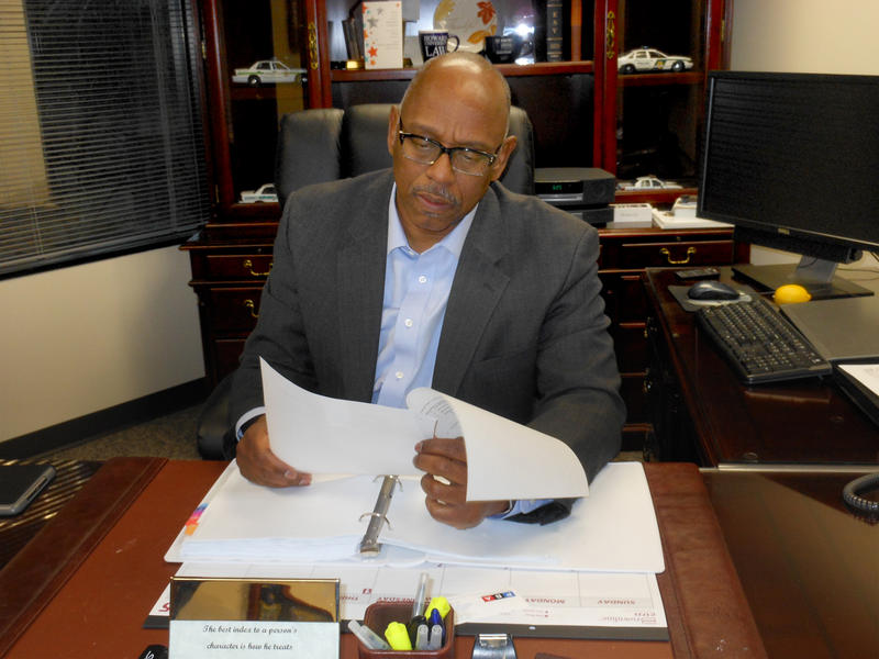 DeKalb County Public Safety Director Cedric Alexander in his office, January 2015.