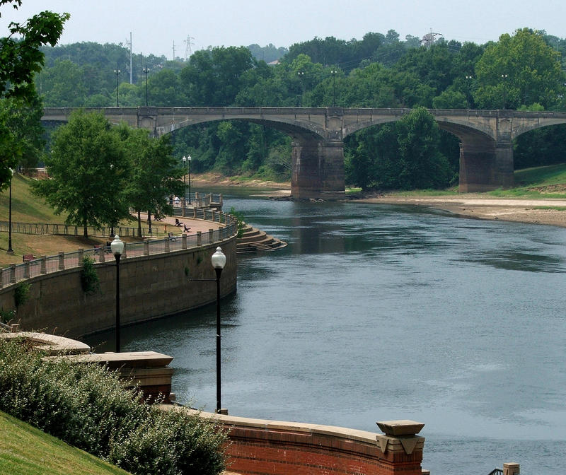 The Chattahoochee River is one of the major state rivers at risk, according to the Georgia Water Coalition. In August, the state got rid of a minimum water flow requirement to allow for a reserve in case of a drought.