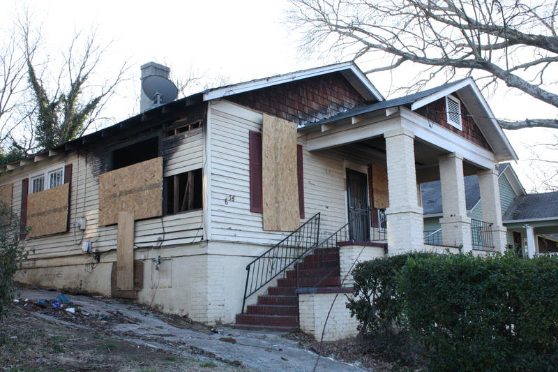 There are hundreds of boarded up properties in the English Avenue and Vine City neighborhoods.