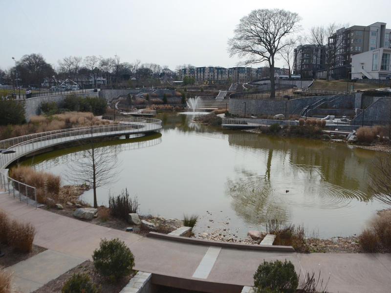 Old Fourth Ward park in Atlanta, Feb. 3, 2015