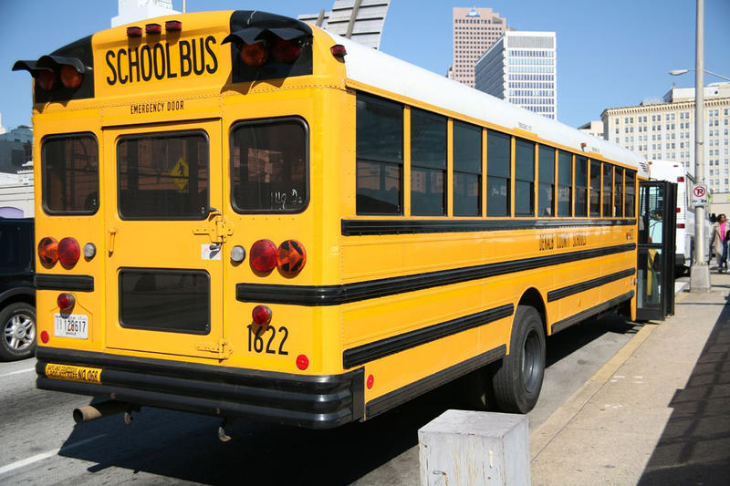 Schoolbus dropoff APS