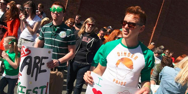 The Ginger Pride Parade in Rome, Ga grows every year. While the event primarily involves redheads, organizers say all are welcome