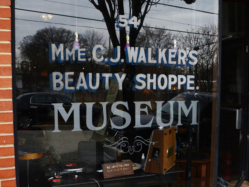 De Forest still cuts hair in the Madam C.J. Walker Museum.