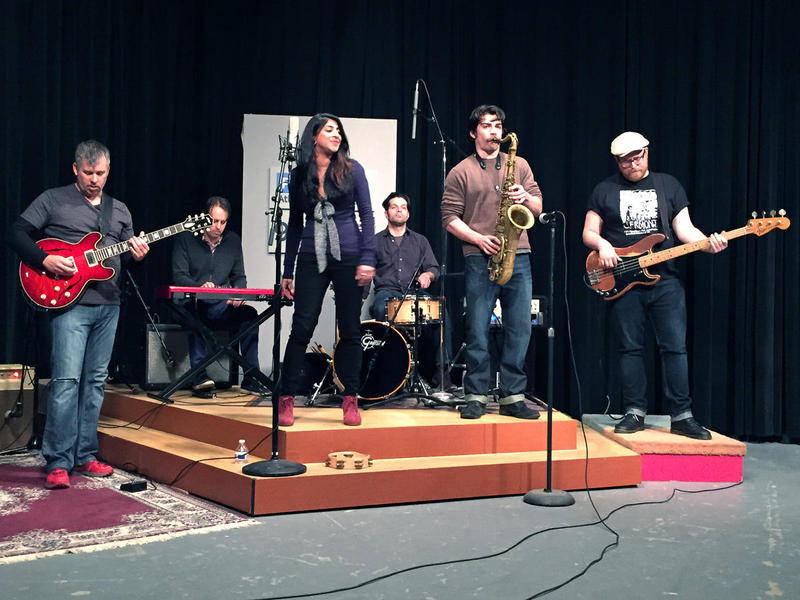 Atlanta soul band Ruby Velle and the Soulphonics perform live in the PBA studio.
