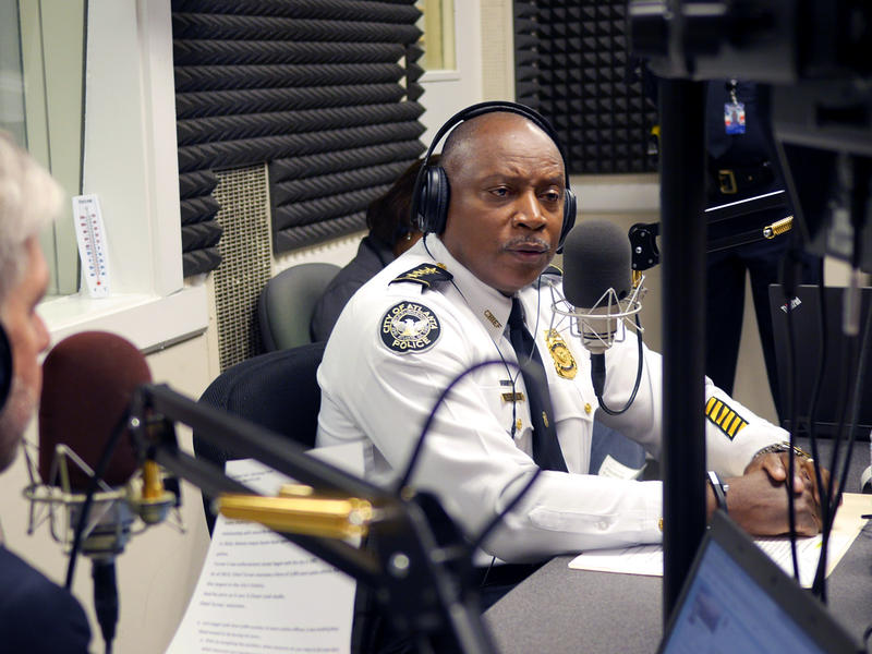 Atlanta Police Department Chief George Tuner in the A Closer Look studio, March 2, 2015