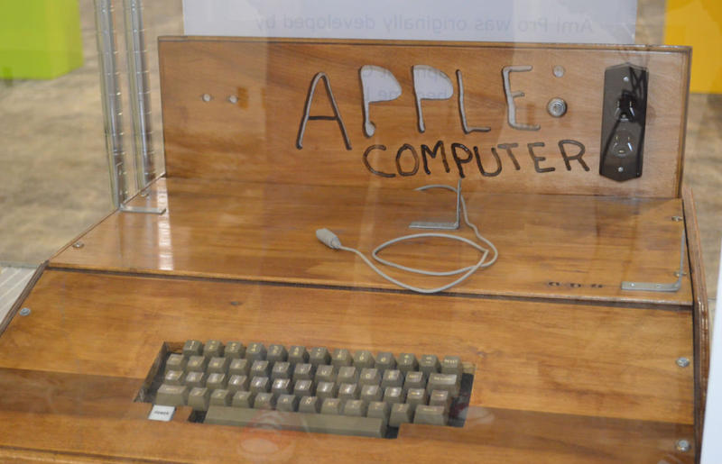 Apple I computer at the Southeast Vintage Computer Festival