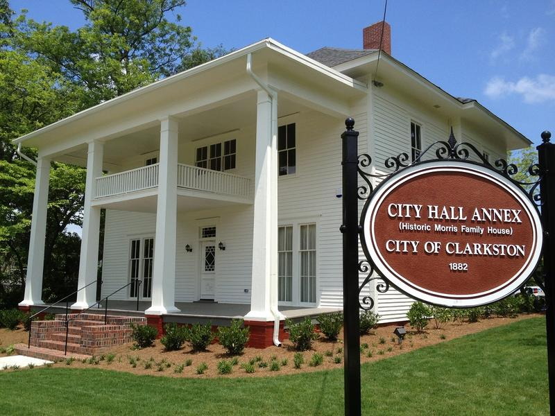 Clarkston City Hall in DeKalb County is known for its diverse population.