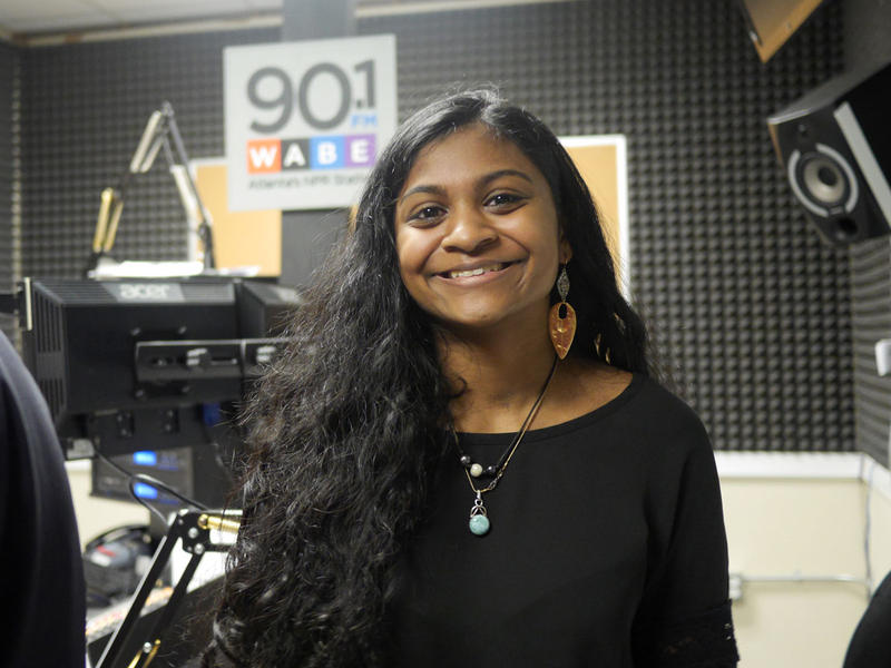Mona Mahadevan, Georgia state spelling bee champ on A Closer Look, April 13, 2015