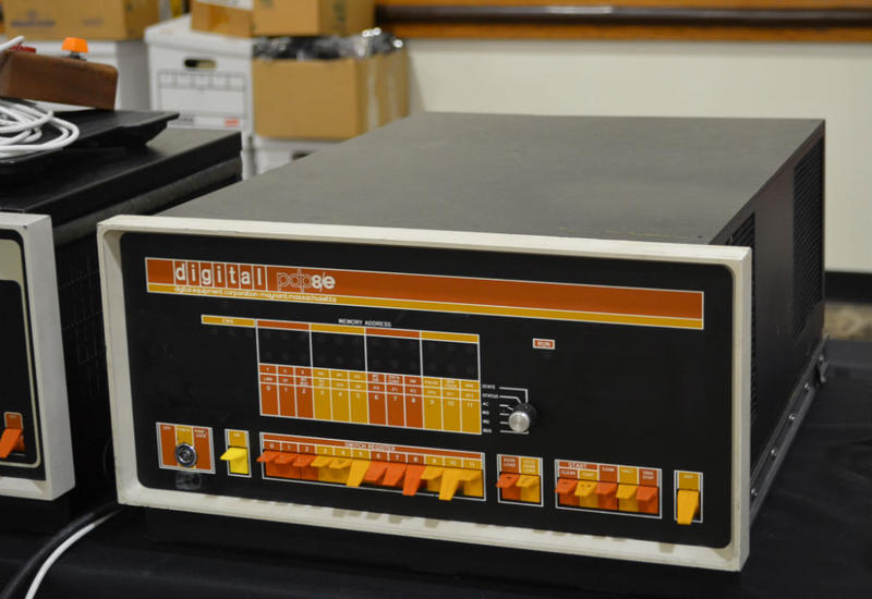 A PDP-8/e at the Southeast Vintage Computer Festival
