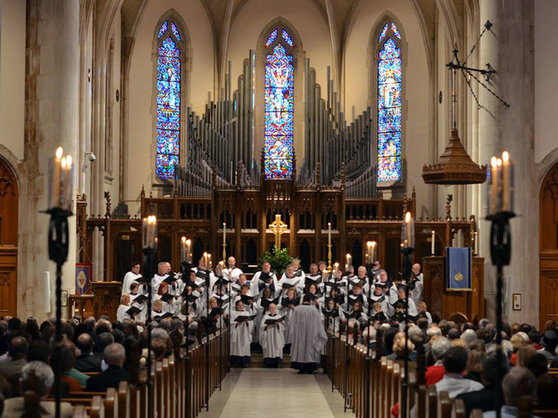 The Cathedral of St. Philip's choir, Nov. 2014