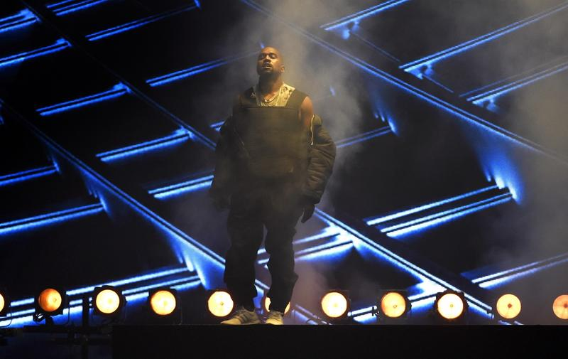 In this Sunday, May 17, 2015 file photo, Kanye West performs at the Billboard Music Awards at the MGM Grand Garden Arena in Las Vegas.