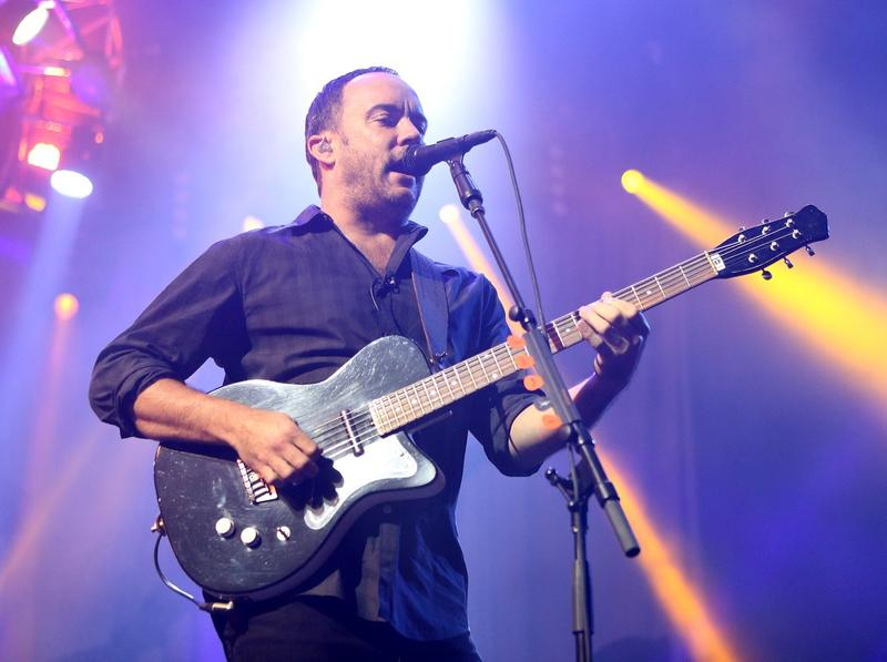 Dave Matthews of The Dave Matthews Band performs on stage at the Susquehanna Bank Center on Friday, June 28, 2013,