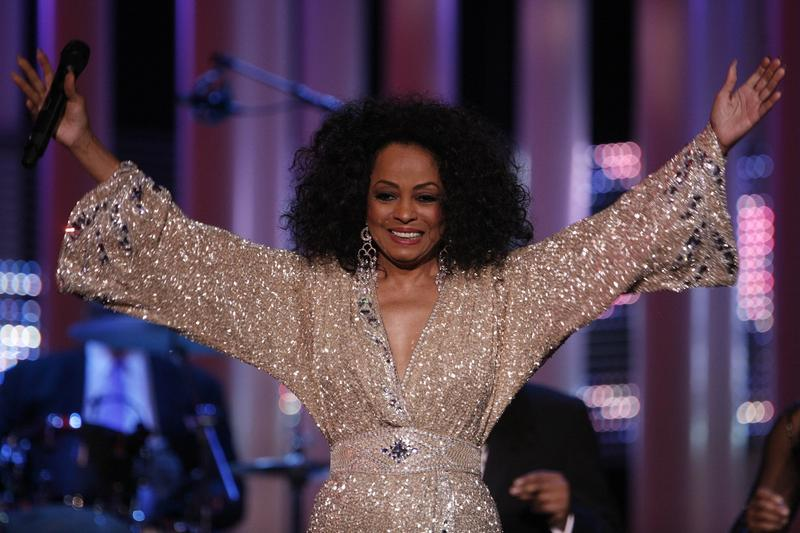 U.S. singer Diana Ross performs at the Nobel Peace Prize concert in Oslo,Thursday, Dec. 11, 2008. Artists from all over the world gathered at the Oslo Spektrum to help spread the message of peace and celebrate this year's Nobel Peace Prize laureate. (AP P