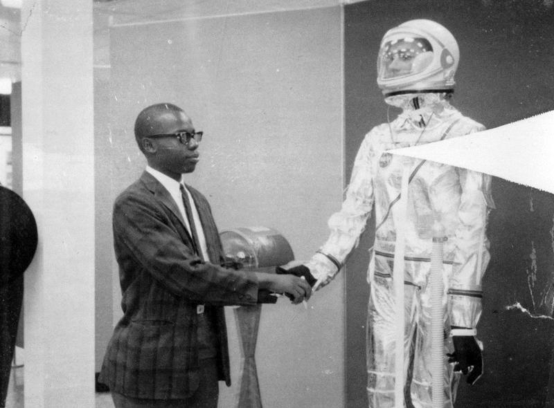 Morgan Watson was NASA's first African-American engineer. He helped design the heat shield for the Saturn V rocket
