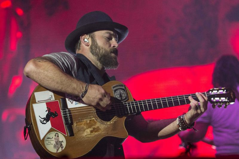 Zac Brown as Zac Brown Band performs during Music Midtown 2014 at Piedmont Park on Saturday, Sep. 20, 2014, in Atlanta.