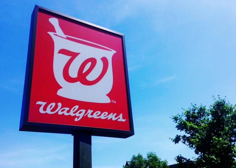 Shot of Walgreens sign