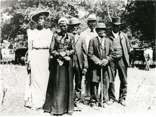 Juneteenth day celebration in Texas June 19,1900
