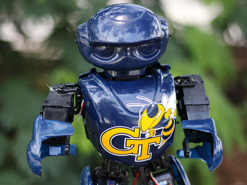 ''Yellow Jacket'' is a robot designed to help children with motor skills disabilities.
