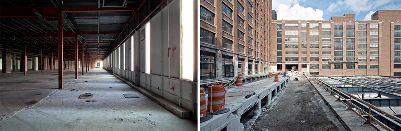 Fresh out of architecture school, Blake Burton began taking photos of the transformation.