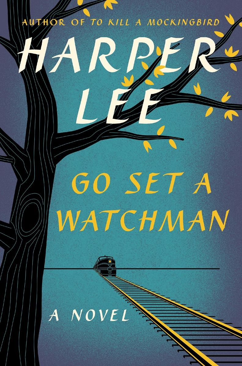 "This book cover released by Harper shows ""Go Set A Watchman,"" a follow-up to Harper Lee's ""To Kill A Mockingbird."" The book will be released on July 14."