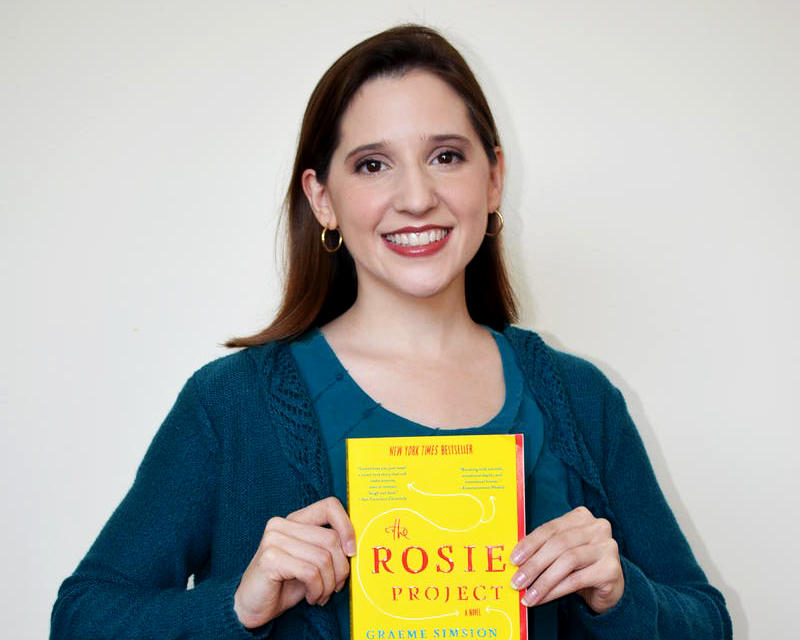 "Amy Kiley on ""The Rosie Project:"" ""As journalists, we always hear what someone tells us...and reading this book was an opportunity to get fully inside someone's head."""