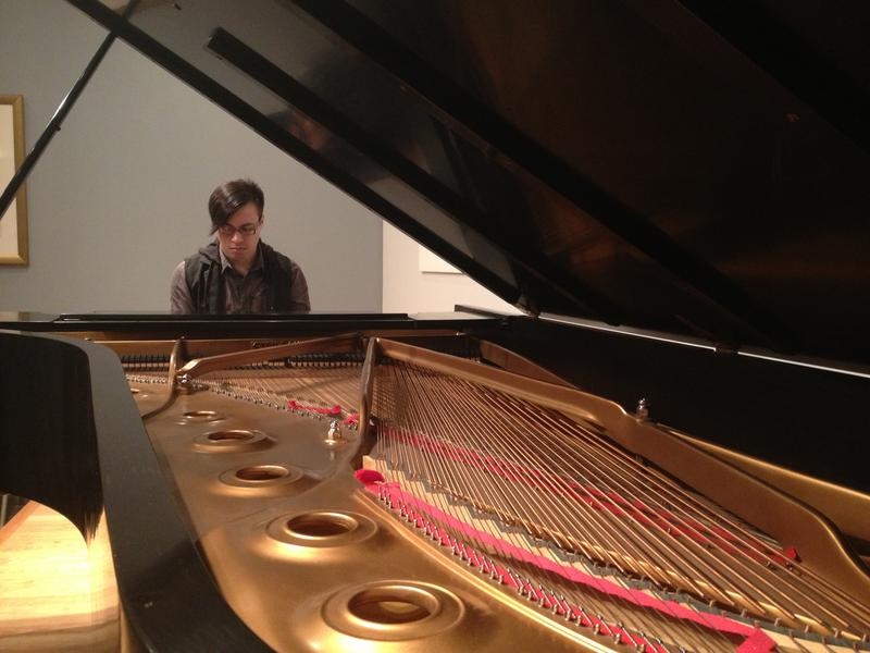 Nick Johns playing a Steinway Concert Grand once played by Emanuel Ax, Diana Krall, Lang Lang, McCoy Tyner, and many others at the Steinway Piano Gallery in Alpharetta.