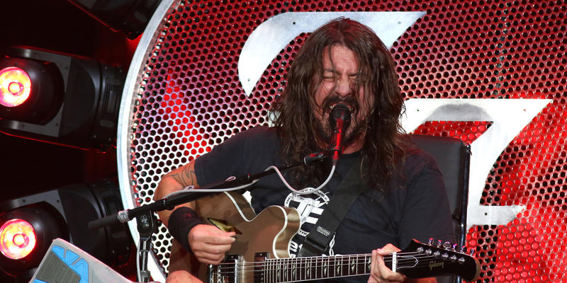 Dave Grohl of the Foo Fighters performs at Citi Field on Thursday, July 16, 2015, in New York.