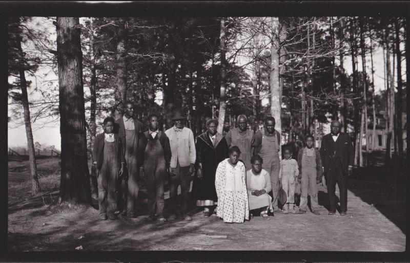 While Horace Bond was staying in Star Creek, Louisiana, he stayed with this prominent, land-owning black family. Sometime after this photo was taken, one of the family's sons would be lynched.