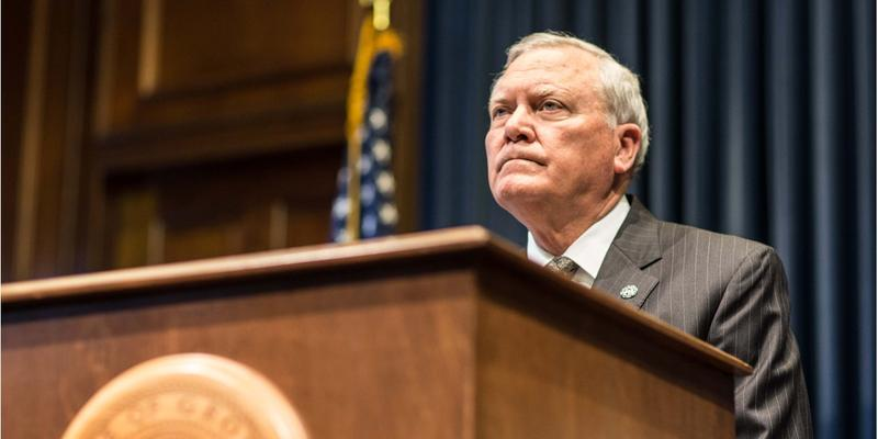 "Gov. Nathan Deal said he might look at a revised version of the ""campus carry"" bill he vetoed last year."