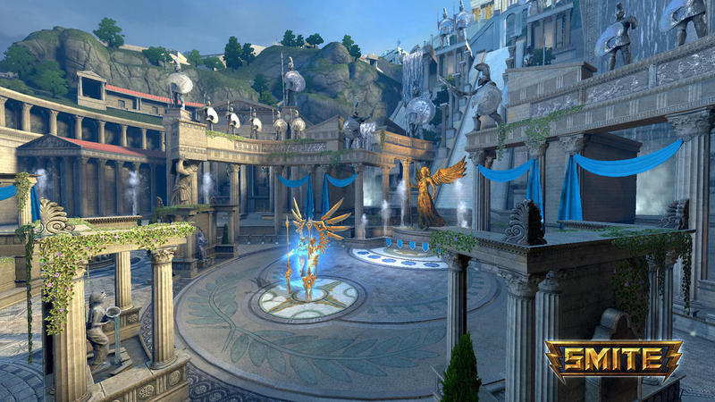 A screenshot from the video game SMITE which is developed in Atlanta.
