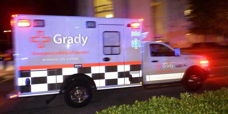 Kevin Hazzard recounts some of his experiences driving a Grady ambulance around Atlanta in his memoir.