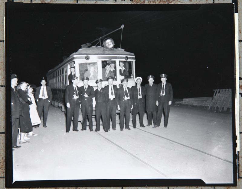 Last Ride of the Stone Mountain Interurban Line, March 14, 1948