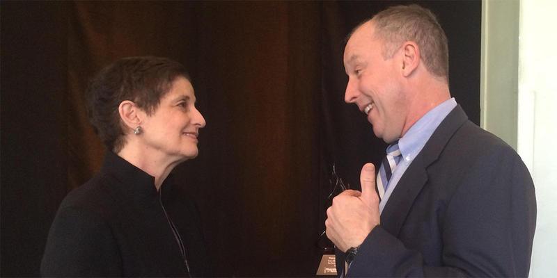 Nancy Parris received Georgia Tech's Ivan Allen Jr. Prize for Social Courage.