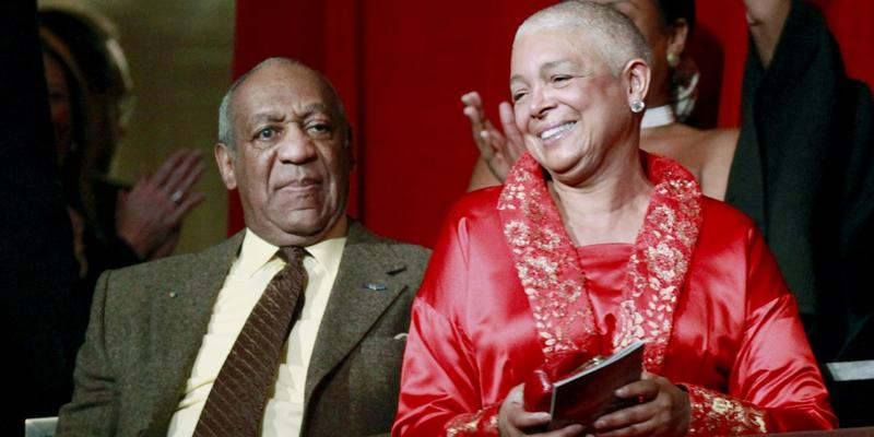 Despite lawyers' attempts to delay the deposition, Camille Cosby, shown in 2009 with Bill Cosby, is slated to answer questions under oath Monday in a defamation lawsuit filed against her husband.