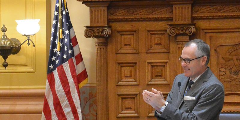 Casey Cagle at the Georgia Senate.