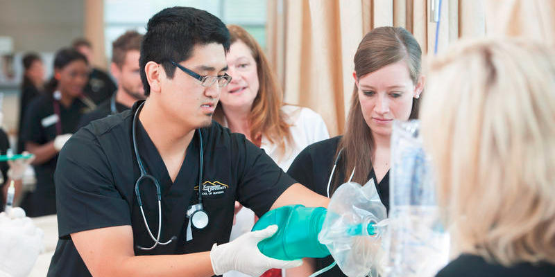 Undergraduates at Kennesaw State University's WellStar School of Nursing are entering a field in high demand in Cobb County and the region.
