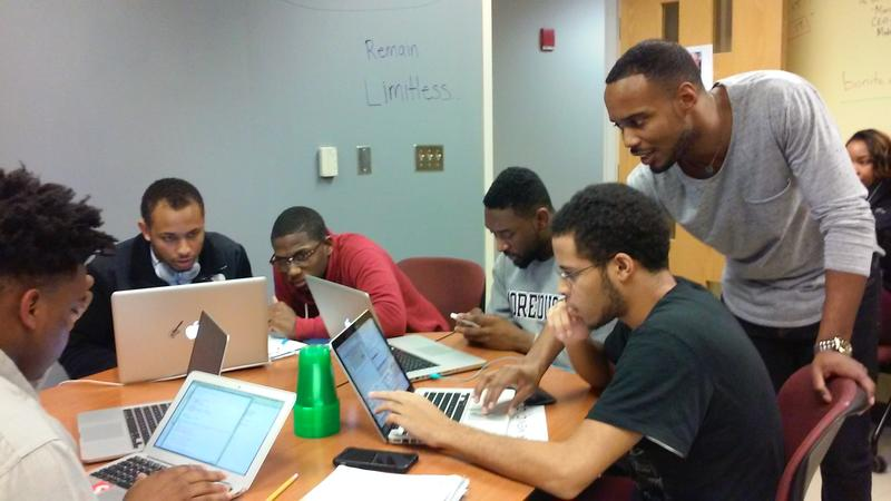 Michael Street is the founder of Black Men Code. He is a Morehouse College alumnus currently pursuing a PhD in architecture at Georgia Tech.