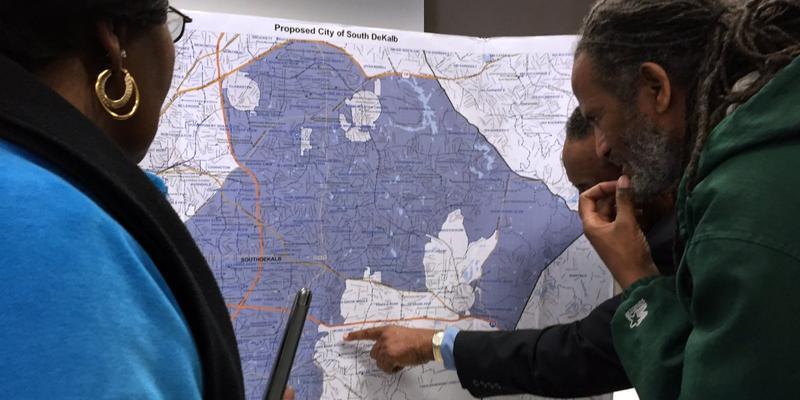 The state Senate is scheduled to vote on a bill that would allow voters to decide on creating the new city of Greenhaven in South DeKalb.