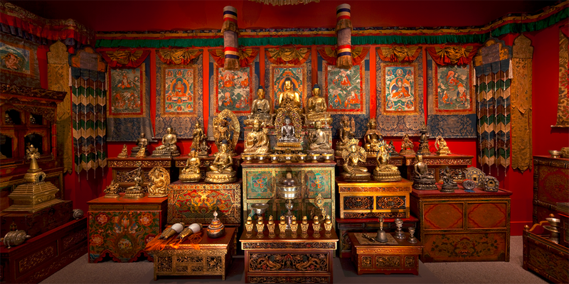 The Michael C. Carlos Museum's latest exhibit 'Doorway to an Enlightened World' features 124 objects from collector Alice S. Kandell's shrine.