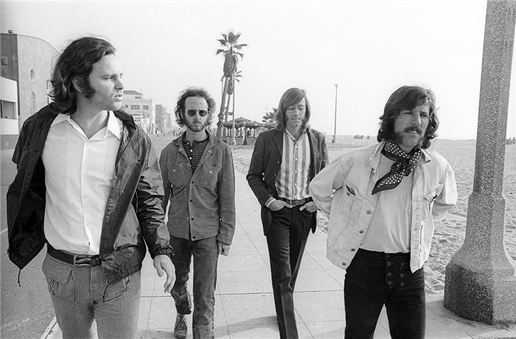 As part of the music scene in Laurel Canyon, California, Henry Diltz was able to photograph upcoming artists in the 1960s and 70s like the Doors.