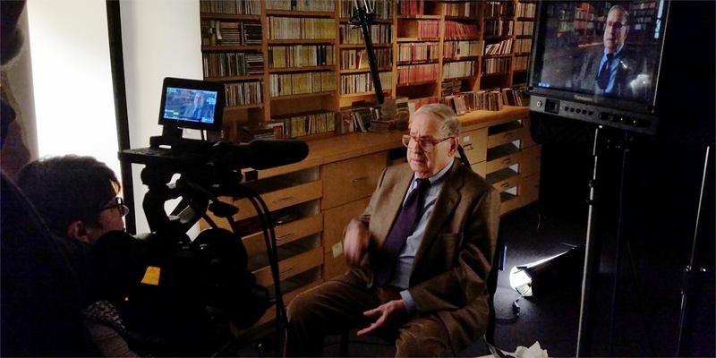 Kiki Wilson interviews Robert Shaw biographer Joe Mussulman for the documentary ''Robert Shaw - Man of Many Voices.''