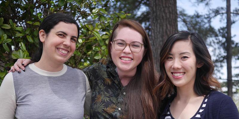 WABE 90.1 reporters Molly Samuel, Lisa Hagen and Elly Yu won awards at the Atlanta Press Club's annual banquet.
