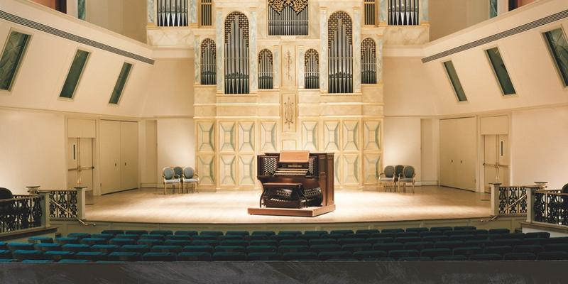 The Albert Schweitzer Memorial Organ's 25th anniversary is being celebrated by Spivey Hall this weekend.