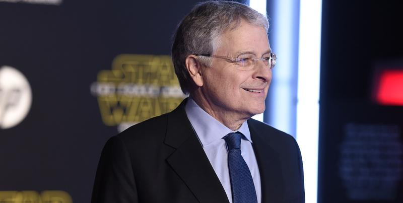 "Lawrence Kasdan arrives at the world premiere of ""Star Wars: The Force Awakens"" at the TCL Chinese Theatre on Monday, Dec. 14, 2015, in Los Angeles."