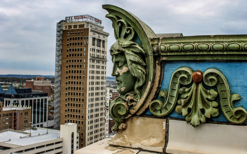 The Empire building has sat abandoned for many years but recently got a $27 million renovation.