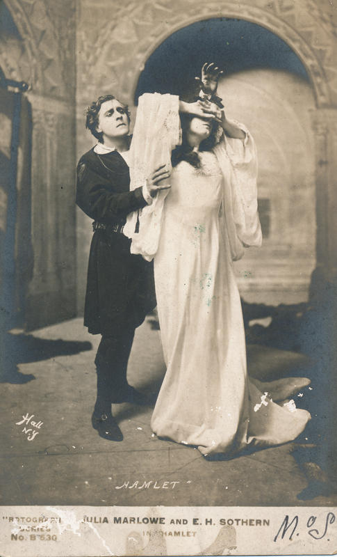 Pictured here is Julia Marlowe and E. H. Sothern in ''Hamlet.''