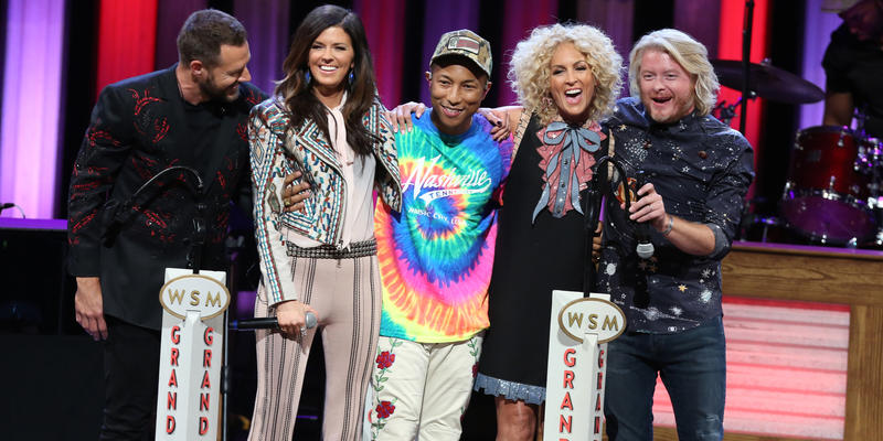 Little Big Town and Pharrell Williams
