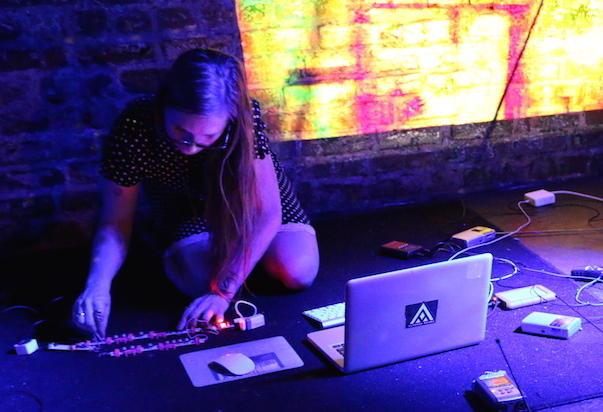 Atlanta-based artist Meredith Kooi explores proximity and embodiment through the radio.